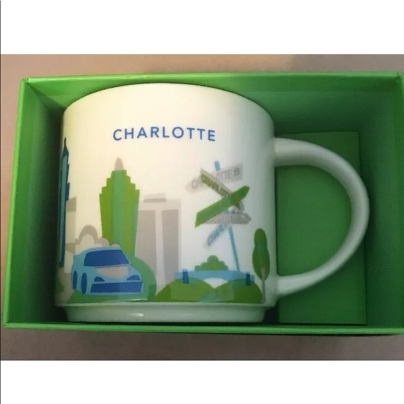 Nwt You Nc Mug Starbucks Here Are Charlotte qSUpjzVMGL